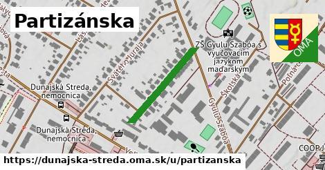 ilustrácia k Partizánska, Dunajská Streda - 240m