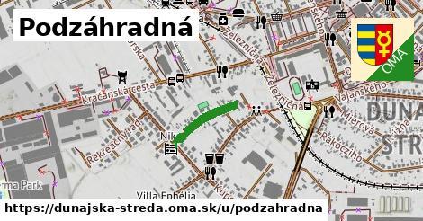 ilustrácia k Podzáhradná, Dunajská Streda - 266m