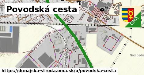 ilustrácia k Povodská cesta, Dunajská Streda - 1,17km