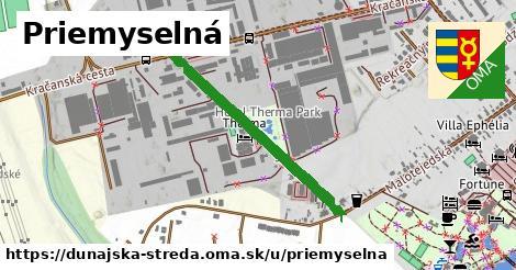ilustrácia k Priemyselná, Dunajská Streda - 674m