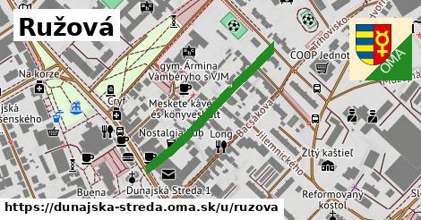 ilustrácia k Ružová, Dunajská Streda - 315m