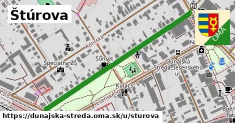 ilustrácia k Štúrova, Dunajská Streda - 566m