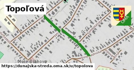 ilustrácia k Topoľová, Dunajská Streda - 339m