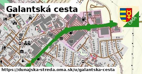 ilustrácia k Galantská cesta, Dunajská Streda - 1,44km