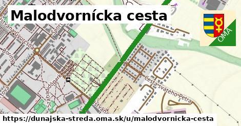ilustrácia k Malodvornícka cesta, Dunajská Streda - 1,49km