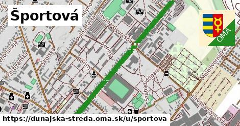 ilustrácia k Športová, Dunajská Streda - 1,11km