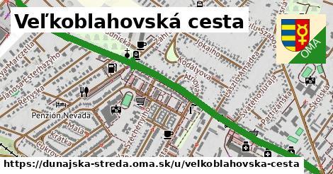 ilustrácia k Veľkoblahovská cesta, Dunajská Streda - 1,66km