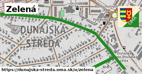 ilustrácia k Zelená, Dunajská Streda - 1,04km