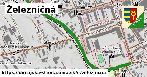 ilustrácia k Železničná, Dunajská Streda - 0,76km