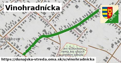 ilustrácia k Vinohradnícka, Dunajská Streda - 558m