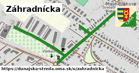 ilustrácia k Záhradnícka, Dunajská Streda - 675m