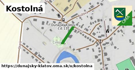 ilustrácia k Kostolná, Dunajský Klátov - 165m