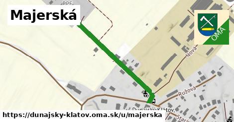 ilustrácia k Majerská, Dunajský Klátov - 366m