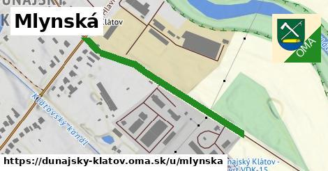 ilustrácia k Mlynská, Dunajský Klátov - 601m