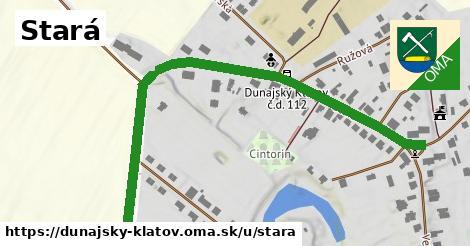 ilustrácia k Stará, Dunajský Klátov - 0,83km