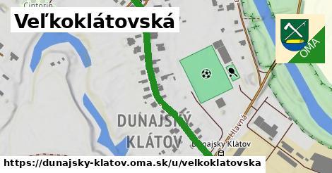 ilustrácia k Veľkoklátovská, Dunajský Klátov - 423m