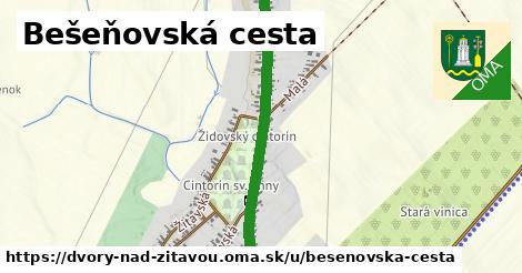 ilustrácia k Bešeňovská cesta, Dvory nad Žitavou - 1,18km