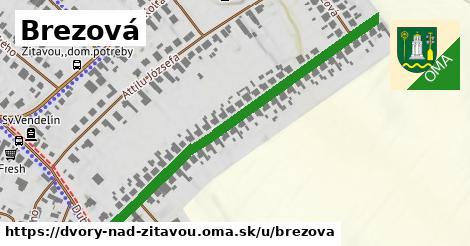 ilustrácia k Brezová, Dvory nad Žitavou - 572m