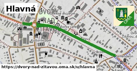ilustrácia k Hlavná, Dvory nad Žitavou - 480m