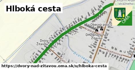 ilustrácia k Hlboká cesta, Dvory nad Žitavou - 646m