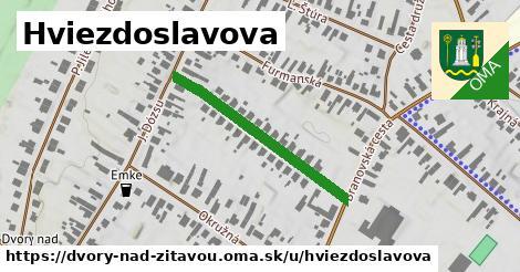 ilustrácia k Hviezdoslavova, Dvory nad Žitavou - 311m