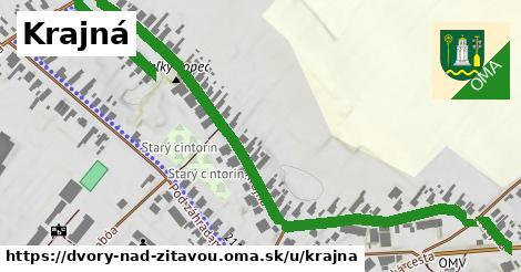 ilustrácia k Krajná, Dvory nad Žitavou - 0,95km