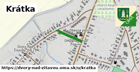 ilustrácia k Krátka, Dvory nad Žitavou - 154m