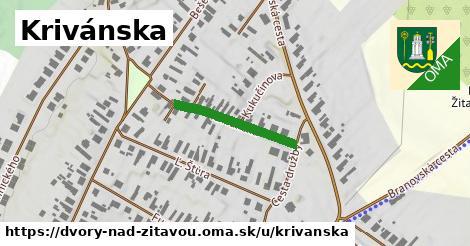 ilustrácia k Krivánska, Dvory nad Žitavou - 261m