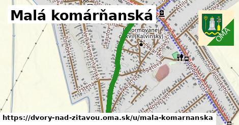 ilustrácia k Malá Komárňanská, Dvory nad Žitavou - 0,82km