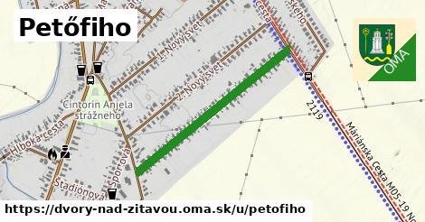 ilustrácia k Petőfiho, Dvory nad Žitavou - 0,71km