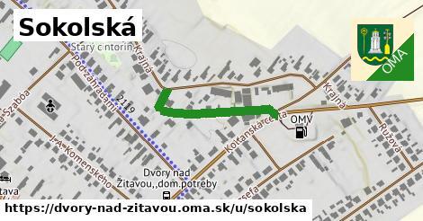 ilustrácia k Sokolská, Dvory nad Žitavou - 263m