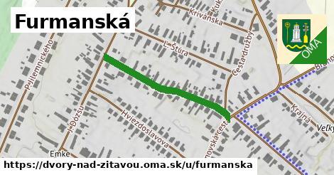 ilustrácia k Furmanská, Dvory nad Žitavou - 320m