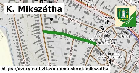 ilustrácia k K. Mikszátha, Dvory nad Žitavou - 292m