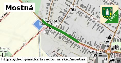 ilustrácia k Mostná, Dvory nad Žitavou - 267m