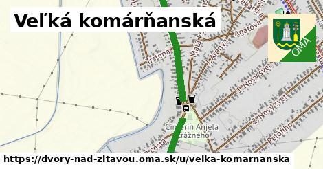 ilustrácia k Veľká Komárňanská, Dvory nad Žitavou - 1,66km