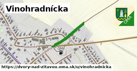 ilustrácia k Vinohradnícka, Dvory nad Žitavou - 208m