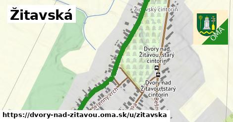 ilustrácia k Žitavská, Dvory nad Žitavou - 646m