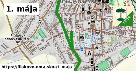 ilustrácia k 1. mája, Fiľakovo - 0,94km
