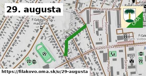 ilustračný obrázok k 29. augusta, Fiľakovo