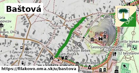 ilustrácia k Baštová, Fiľakovo - 265m