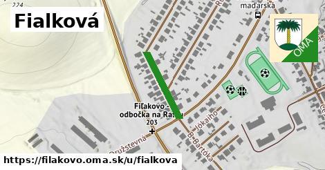 ilustrácia k Fialková, Fiľakovo - 173m