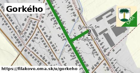 ilustračný obrázok k Gorkého, Fiľakovo