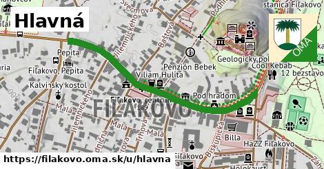 ilustrácia k Hlavná, Fiľakovo - 0,77km