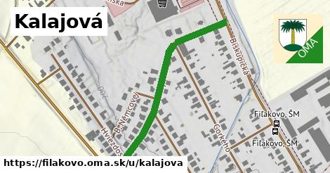 ilustračný obrázok k Kalajova, Fiľakovo