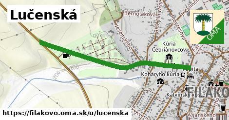 ilustrácia k Lučenská, Fiľakovo - 1,02km