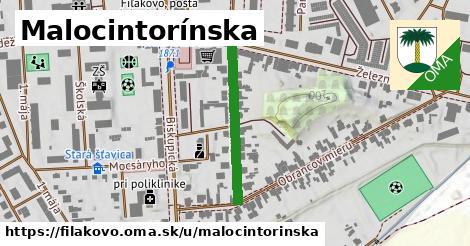 ilustračný obrázok k Malocintorínska, Fiľakovo