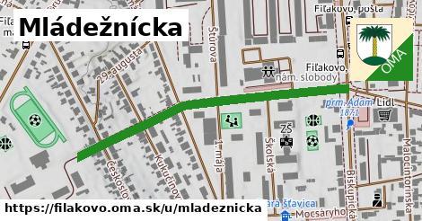ilustrácia k Mládežnícka, Fiľakovo - 506m