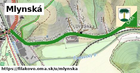 ilustrácia k Mlynská, Fiľakovo - 1,28km