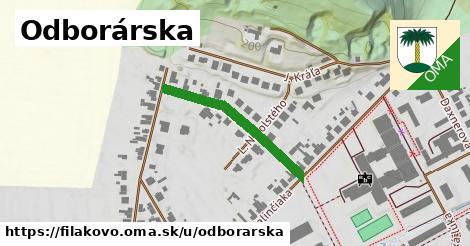ilustrácia k Odborárska, Fiľakovo - 273m