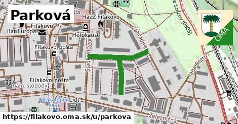 ilustrácia k Parková, Fiľakovo - 313m